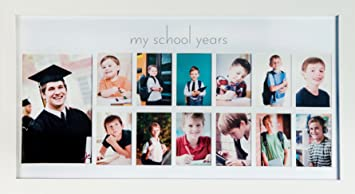 Amazoncom Green Pollywog School Years Picture Day Collage Frame