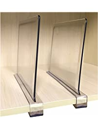Awesome Cq Acrylic 2PCS Multifunction Acrylic Shelf Dividers,Closets Shelf And  Closet Separator For Wood Closet
