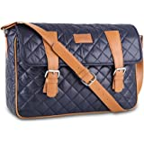 "CAISON Laptop Briefcase Bag Satchel Shoulder Messenger Bags For 13.3"" - 14"" Notebook Computers / 13.5"" Microsoft Surface Book / 13"" MacBook Pro With Retina Display / 13"" MacBook Air / 12.9"" iPad Pro"
