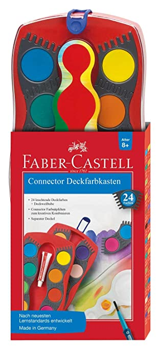 2 opinioni per Faber-Castell Connector- water based paints