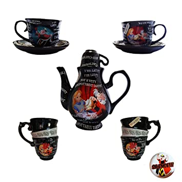 Disney Parks Alice In Wonderland Time For Tea Mad Tea Party Teapot
