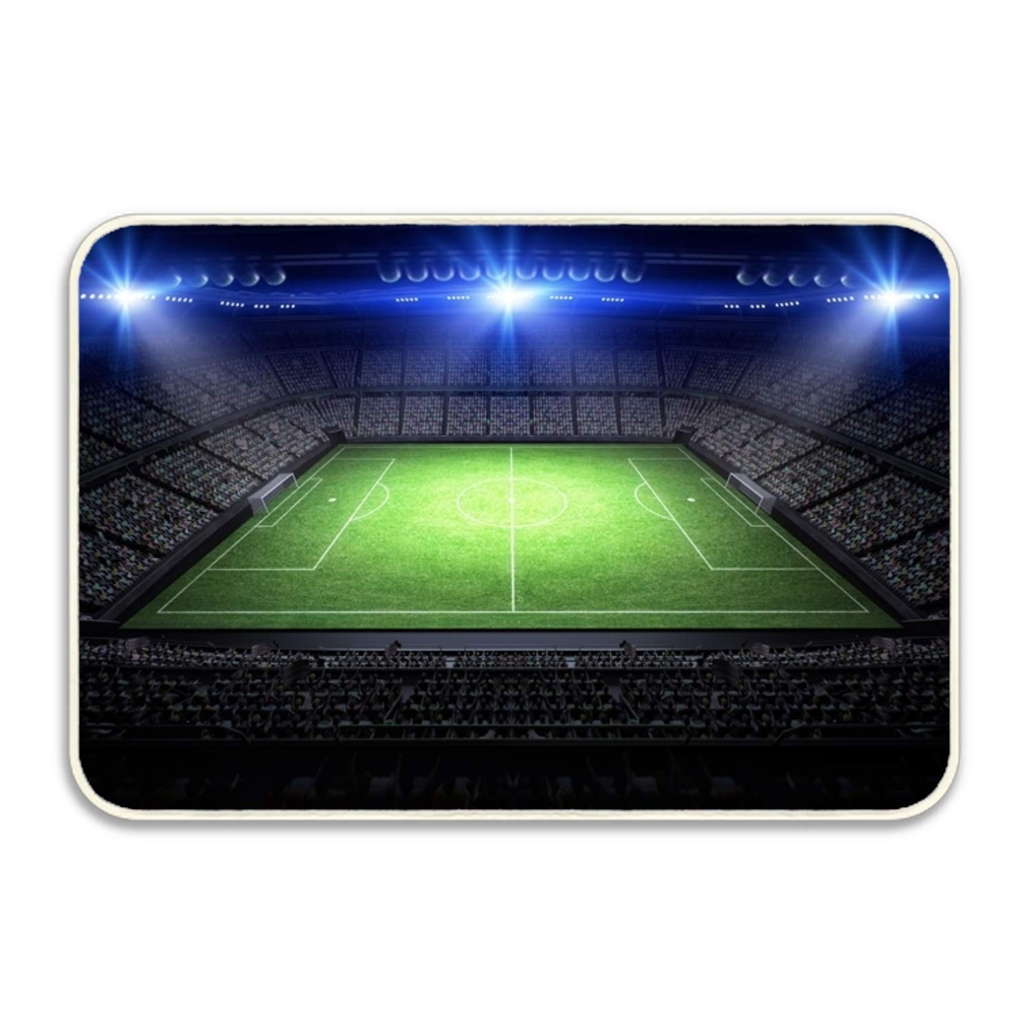 Amazon.com : PlayA Football Site Fancy Doormat Accent Non-Slip Rug Office : Garden & Outdoor