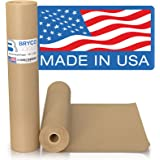 """Brown Kraft Paper Roll - 18"""" x 1,200"""" (100') Made in The USA - Ideal for Packing, Moving, Gift Wrapping, Postal…"""