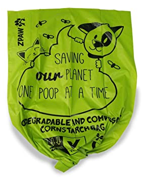 Amazon.com: Biodegradable bolsas de caca de perro por zpaw ...