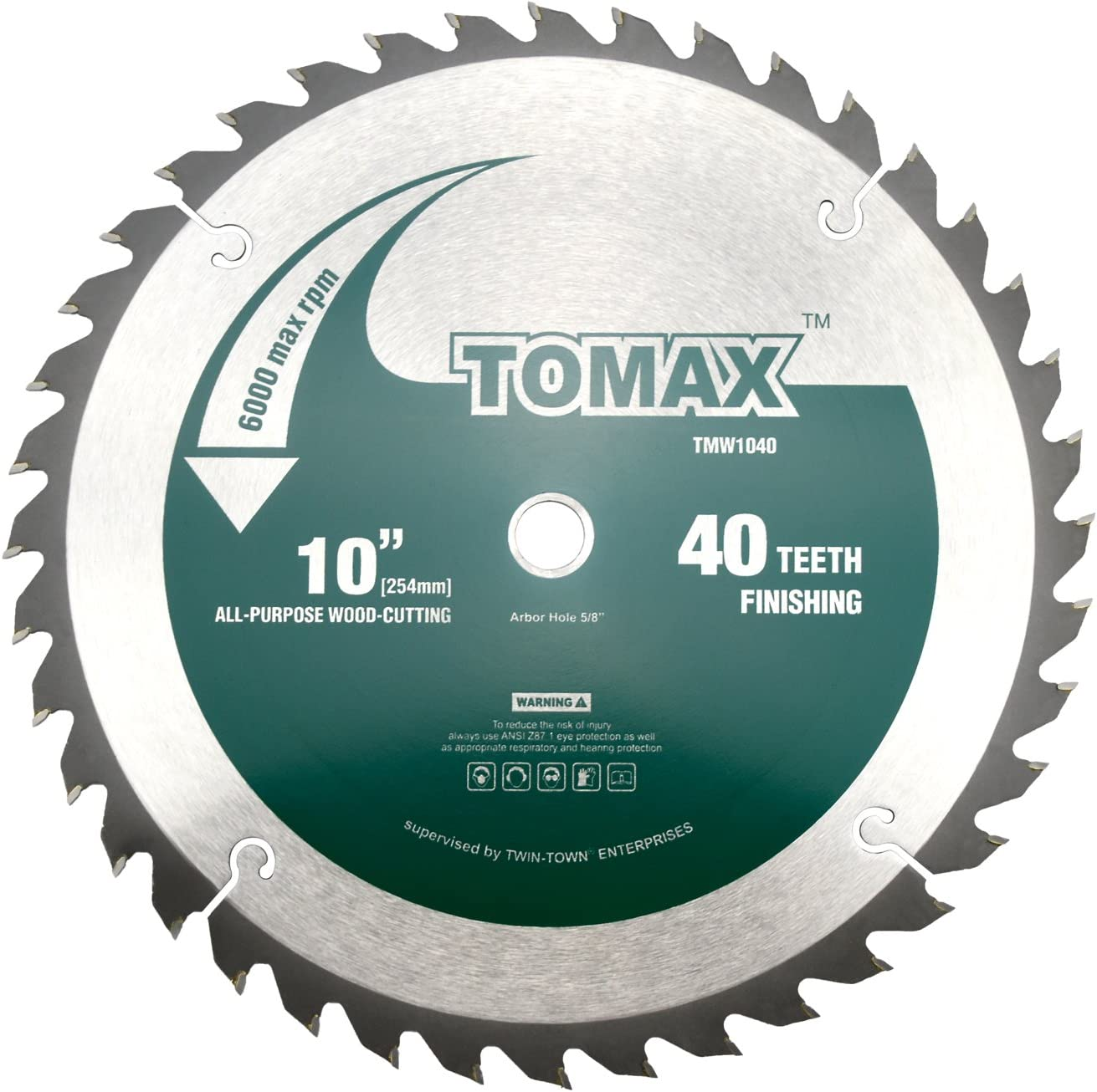 6. TOMAX 12-Inch Saw Blade