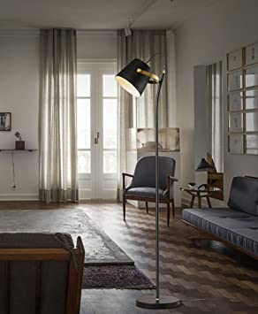 ZENGAI lámpara de pie Hierro moderna lámpara de pie sala de ...