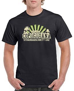 Comedy Shirts Copacabana Strandabschnitt 1312 Herren