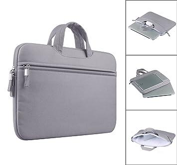 prix compétitif e3972 dc85c Anitech® Housse pc Portable/Pochette / Sacoche Manche Sac, MacBook Laptop  Sleeve pour Apple iPad Pro et Ordinateur Portable/MacBook Pro/MacBook ...