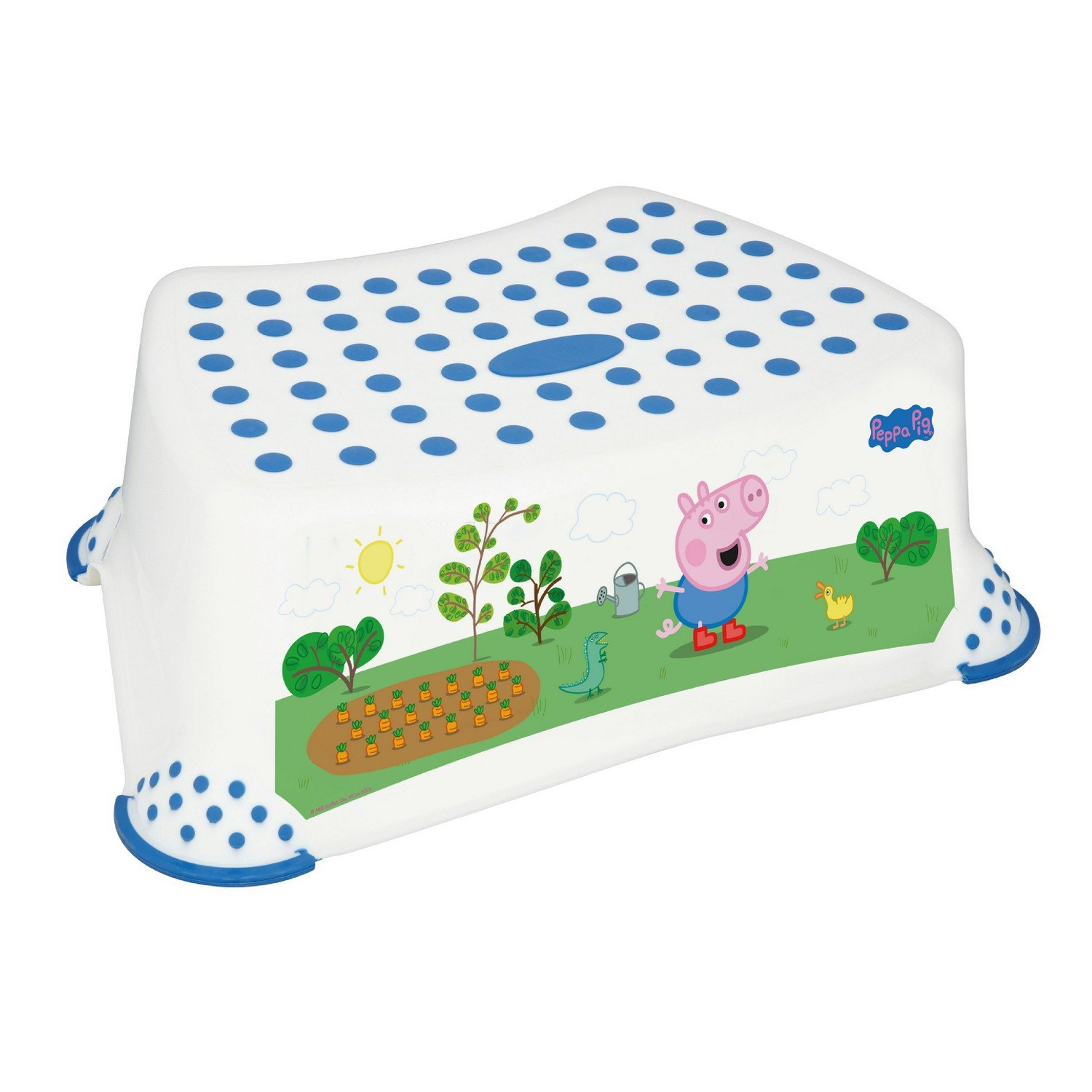 Solutions EU 49563  rutschfeste Peppa Pig WC-Training Schritt Hocker mit George Bild Solutions EU Ltd