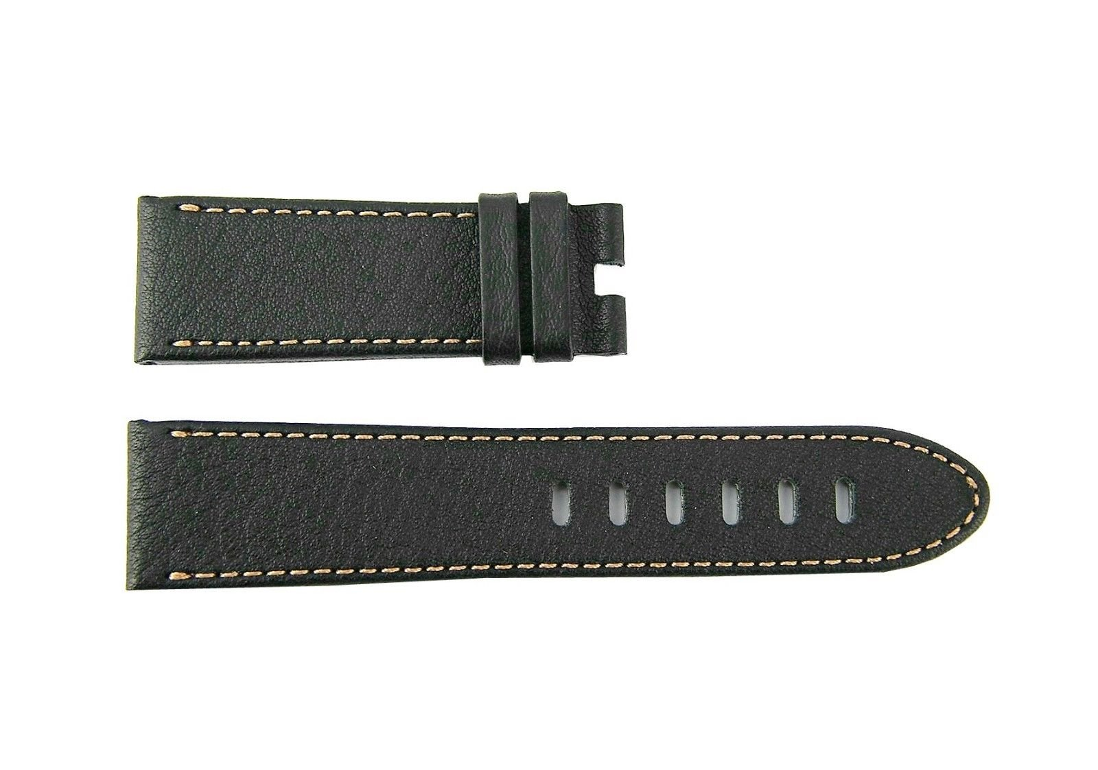 MONTBLANC TIMEWALKER XL Brown Calf Leather Strap 5.5''/3.25''/22mm Swiss 106735#27