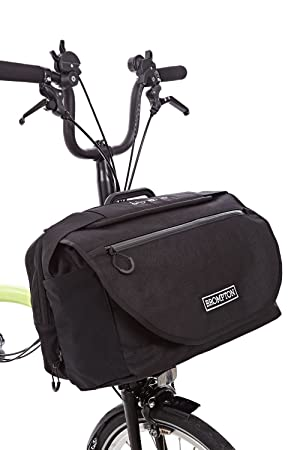 Brompton S Bag With Flap Rain Cover 2016 2017 Model Black No Frame