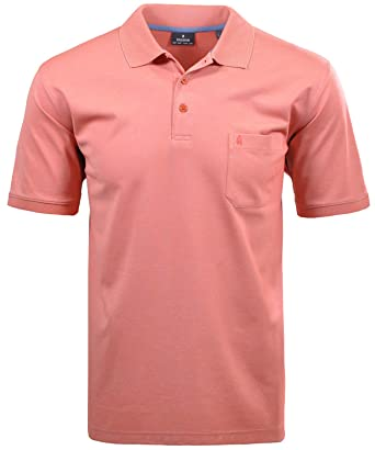 Ragman - Camisa Casual - Liso - Polo - Manga Corta - para Hombre ...
