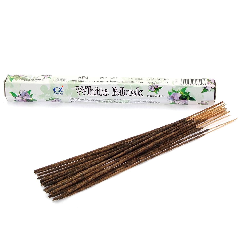 Varillas de incienso–almizcle blanco–60palos