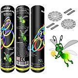 GITD UK LTD 100 Premium Grade Glow Bracelets Glow Sticks 8 Colours Free Glow Ball Connectors