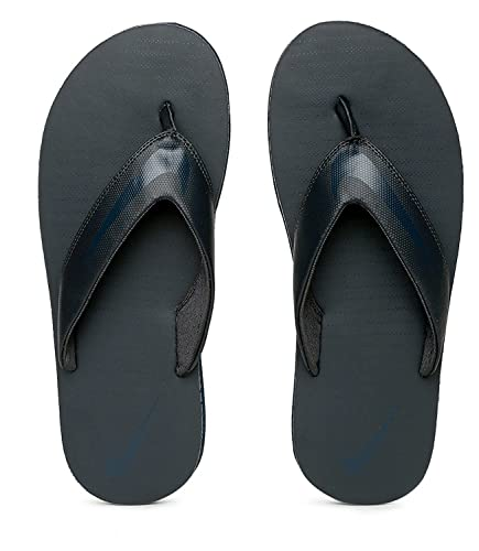 best website 7d27a 2a764 Nike Men's Anthracite and Armory Navy Chroma Thoung 5 Flip Flops  (833808-015)