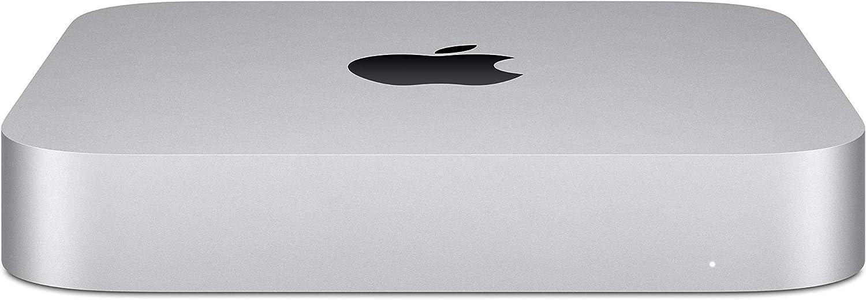 Nuevo Apple Mac mini (Chip M1 de Apple con CPU de ochonúcleos yGPU deochonúcleos, 8GB RAM, 512GB SSD)