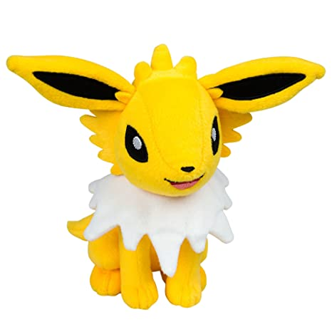 Tomy Pokemon 8 Inch Plush in Display Box - Jolteon