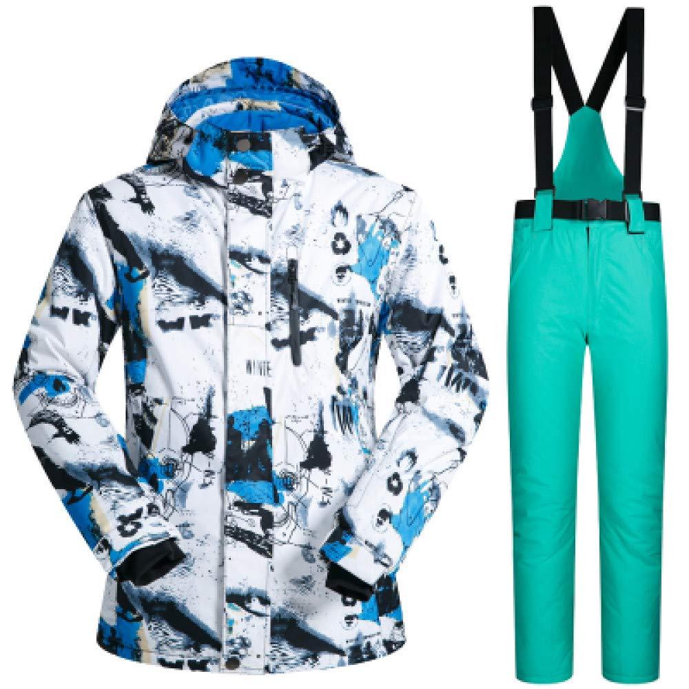ZXGJHXF Giacca da Sci da Uomo Invernale Antivento Impermeabile Impermeabile Impermeabile Giacca da Neve Termica e Pantaloni Set Skiwear Sci e Snowboard da Sci da Uomo,B verde,MB07KXSLK4F3XL B Lakeblu | Design ricco  | Primi Clienti  | Stravagante  | Prese tedesche  | Ufficiale 06aa2e