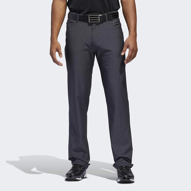adidas Mens Ultimate Heather 5-Pocket Pant