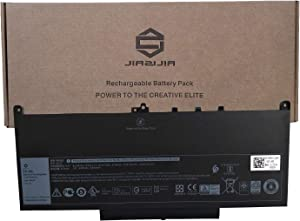 JIAZIJIA J60J5 Laptop Battery Replacement for Dell Latitude 7470 E7470 7270 E7270 Series R1V85 451-BBSX 451-BBSY 451-BBSU MC34Y 242WD GG4FM GG4FM R97YT 1W2Y2 01W2Y2 PGFX4 0PGFX4 7.6V 55Wh 6874mAh