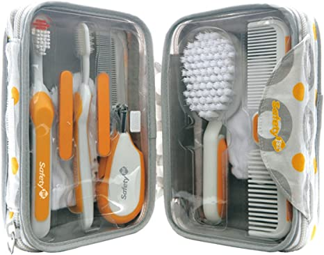 Safety 1st 38533760 - Juego de accesorios para el cuidado del bebé con estuche (8 piezas): Amazon.es: Bebé