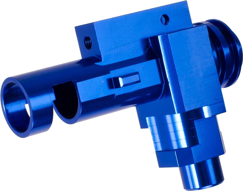 Airsoft CNC Aluminum Hop Up Chamber for Tokyo Marui M4 M16 Series AEG Blue