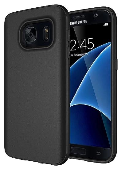 cheap for discount 14313 3993d Samsung Galaxy S7 Case, Diztronic Full Matte Flexible TPU Series, Slim-Fit  Soft Touch Flexible GS7 Phone Cover - Full Matte Black