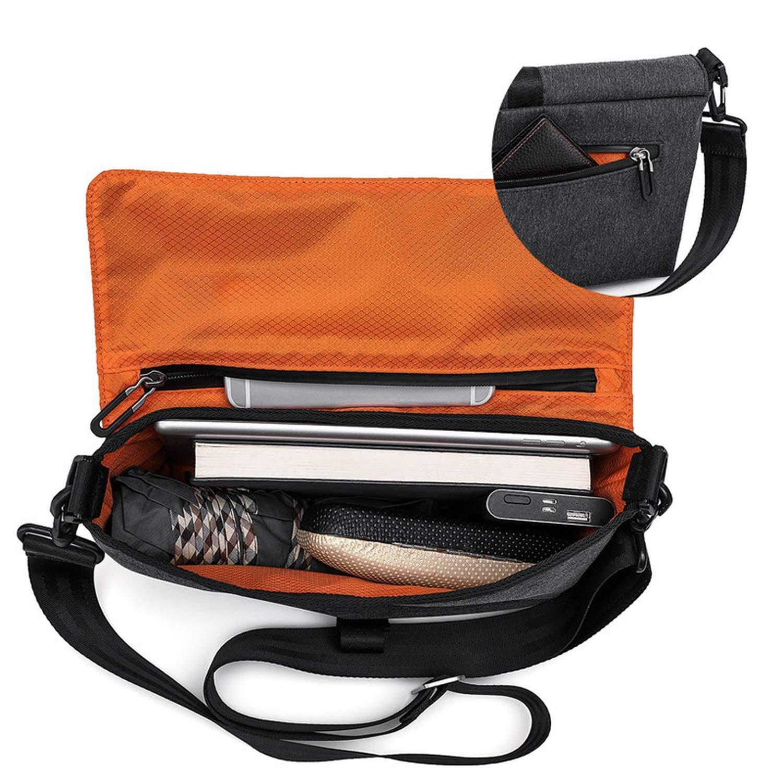 Cherryi Brand Designer Unisex Men Waterproof Messenger Bag Korean Style Cross Body Shoulder Sling Bags