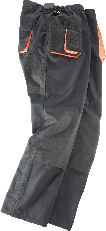 Noir abraxas Pantalon de Travail dans de Grandes Tailles