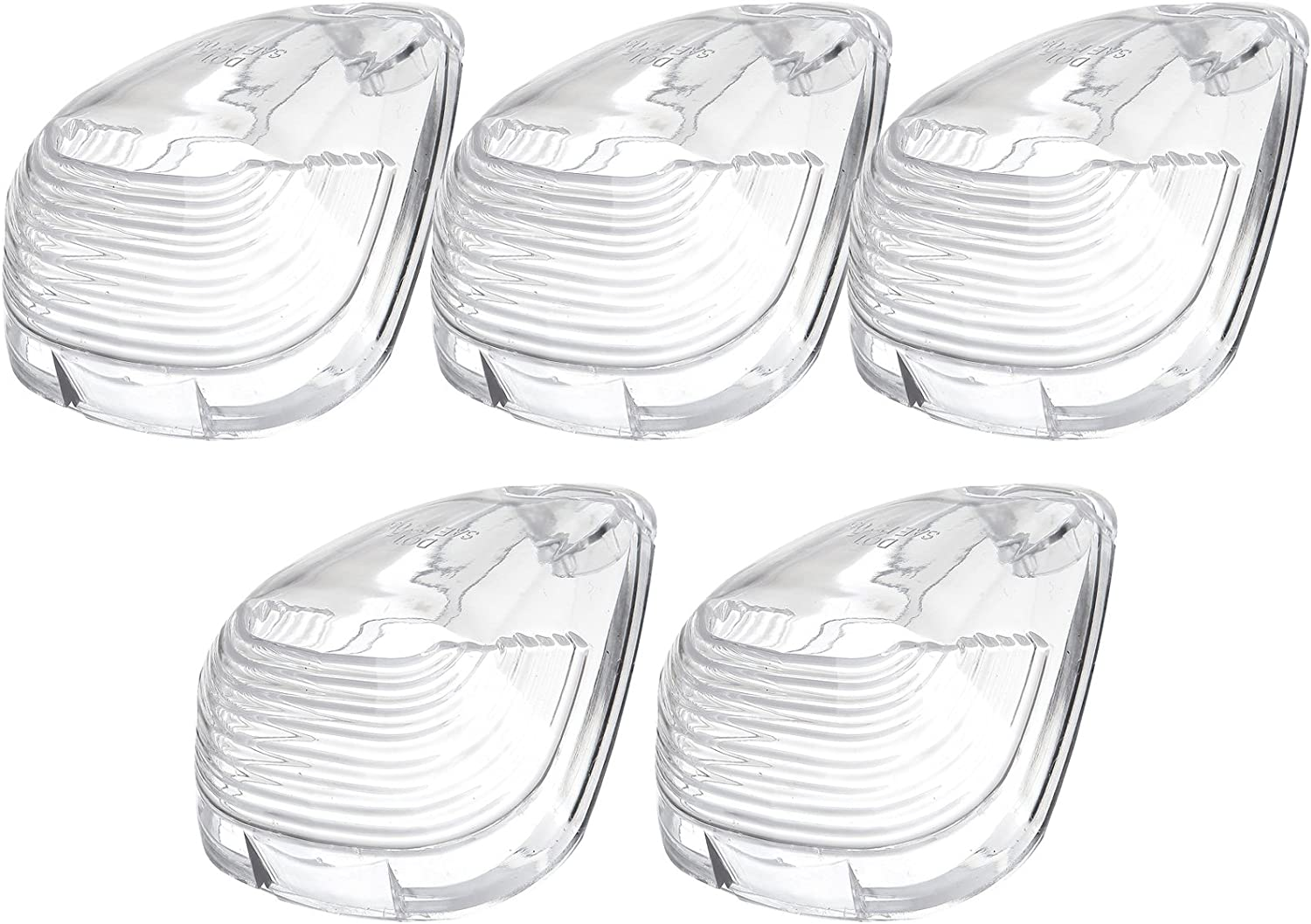 cciyu Cab Marker Light 5x Clear Top Clearance Roof Running Covers//Lens Replacement Cab Marker Assembly Replacement fit for 1999-2015 Replacement fit ford F250 F350 F450