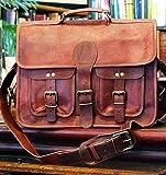 Urban Dezire 16 Inch Leather Messenger Bag