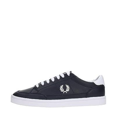 09fa69058fa48 Fred Perry Men's Deuce Leather Sneaker