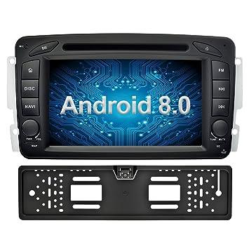Ohok 7 Pulgadas 2 DIN Autoradio Android 8.0 Oreo Octa Core 4GB Ram 32GB ROM GPS