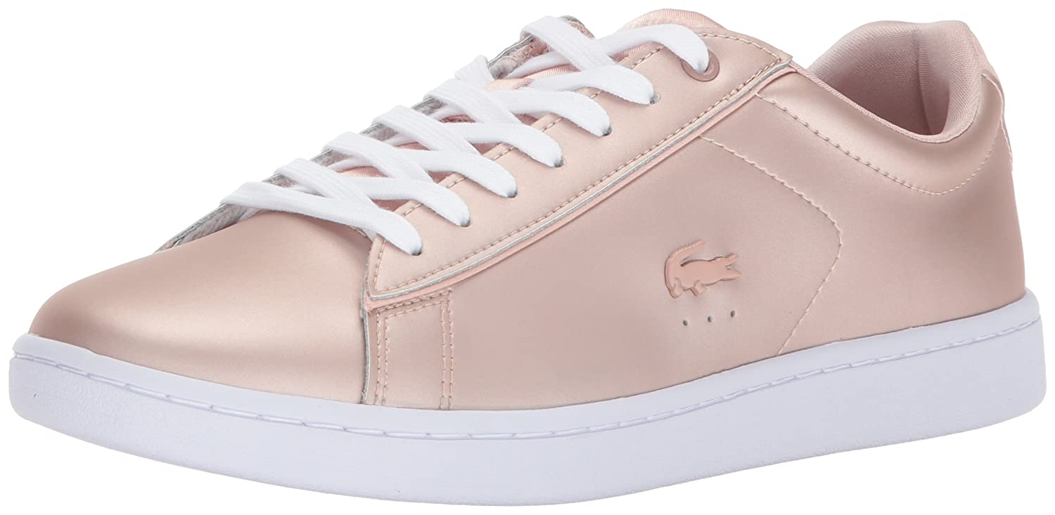 Lacoste Women's Carnaby Evo 118 7 SPW Sneaker B071X864SL 7.5 B(M) US|Natural/White