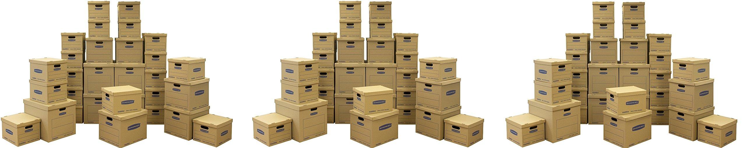 Bankers Box Moving Box, 30pcs (7716501) (3 X 30 Pcs)
