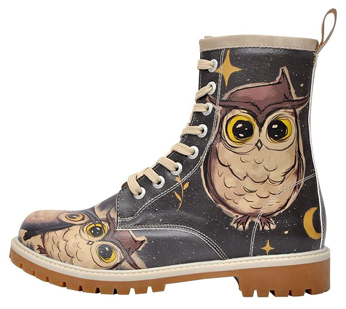 DOGO Stiefel + Tall Bag Bundle - Owls Family