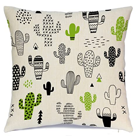 Amazon.com: aeney Cactus Home manta decorativa Funda de ...