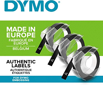 Dymo 3D Label Tapes - Cintas Para Impresoras de Etiquetas (Ampolla ...