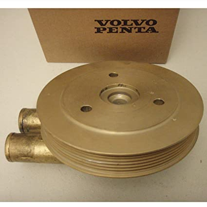 Amazon.com: Volvo Penta OEM Sea Water Pump with Pulley 21214595 (replaces 3862485, 3812696): Automotive