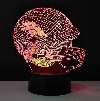Amazon.com: Lámpara de escritorio con iluminación óptica 3D ...