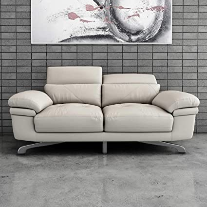 Pleasant Durian Philly Two Sofas Leather Beige Amazon In Home Evergreenethics Interior Chair Design Evergreenethicsorg