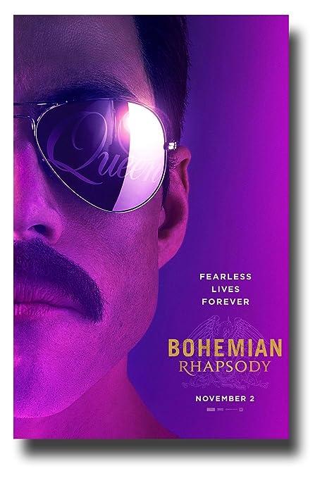Amazoncom Bohemian Rhapsody Poster Movie Promo 11 X 17 Inches
