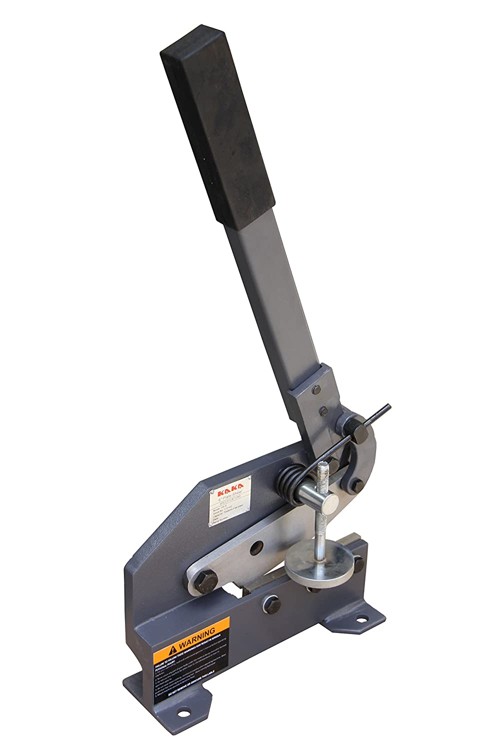 Kaka Industrial Hs 6 Inch Sheet Metal Plate Shear Heavy Steel Cut Pcb Circuit Board Cutter Manual For Cutting Frame Mounting Type High Accuracy Hand