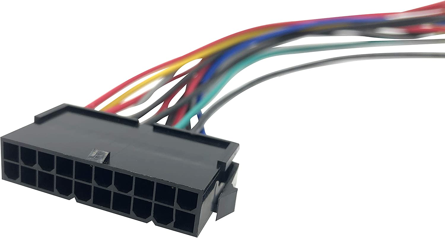 Asicminer 20Pin ATX to 2-Port 6Pin at PSU Converter Power Cable Cord for 286 386 486 586
