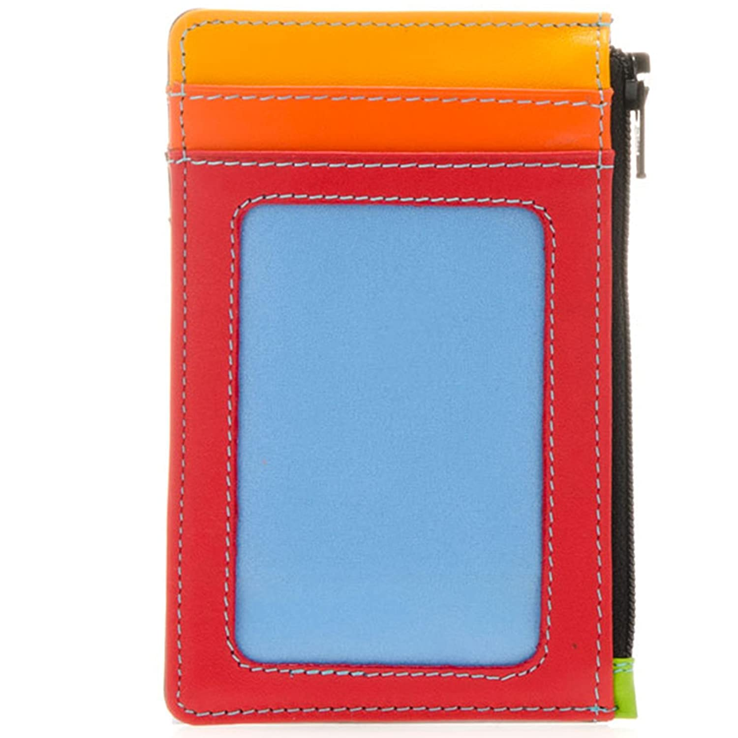 Mywalit Leather Credit Card Holder with Coin Purse 1206