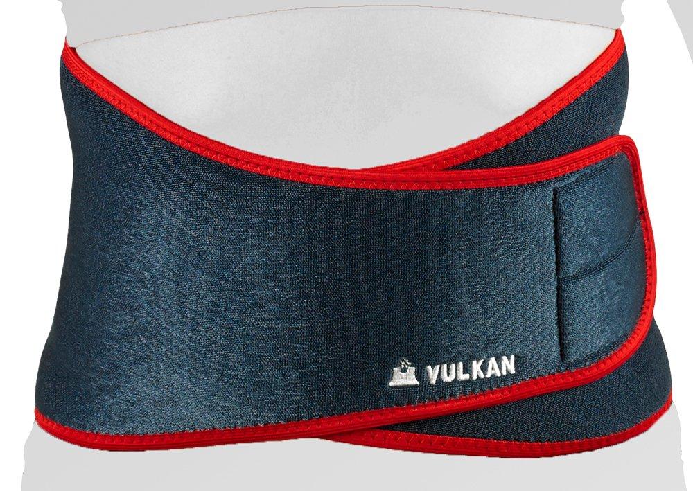 Vulkan Classic Ceinture lombaire avec baleines Bleu Marine//Rouge