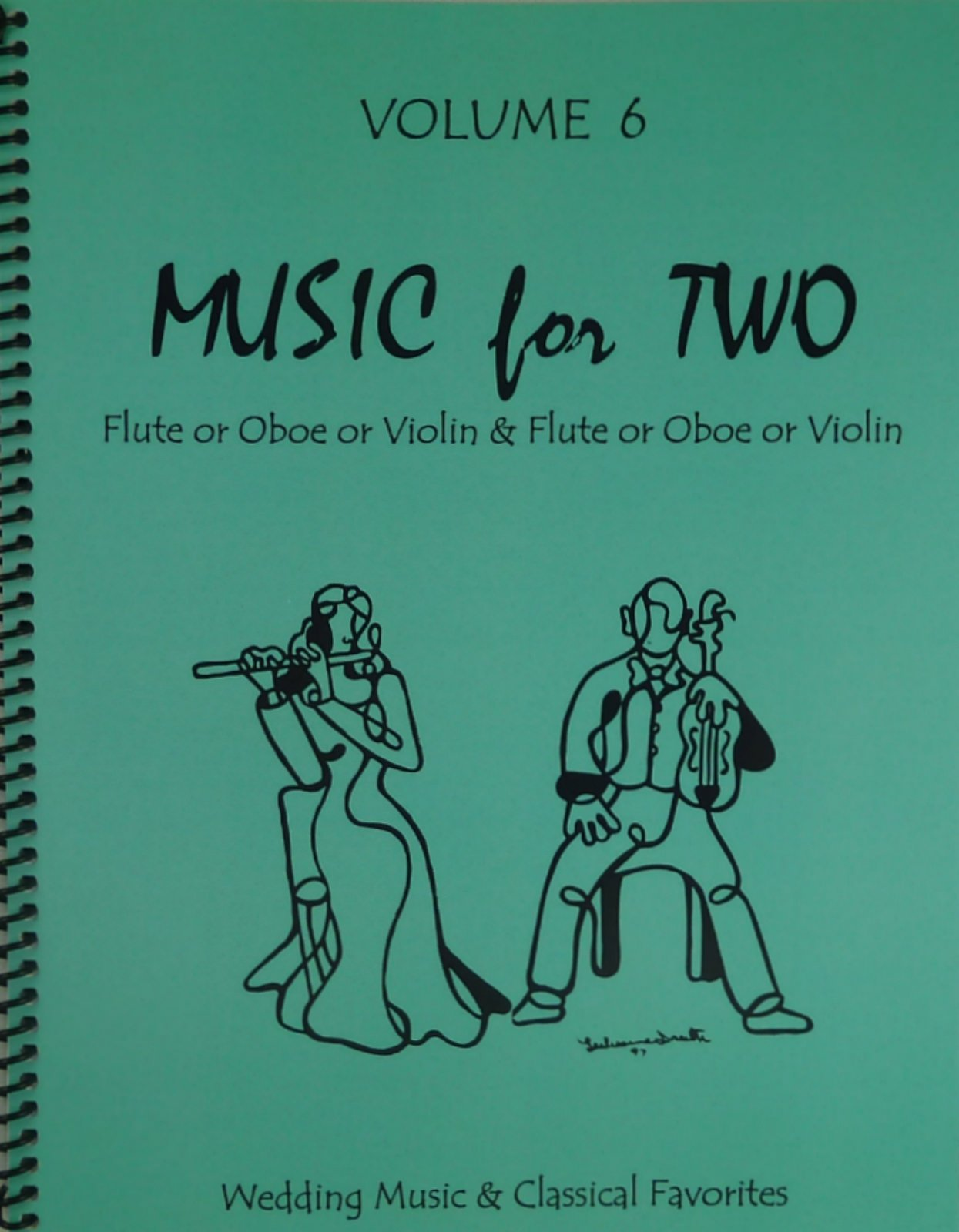 Music for Two, Volume 6 for Flute or Oboe or Violin & Flute or Oboe or Violin