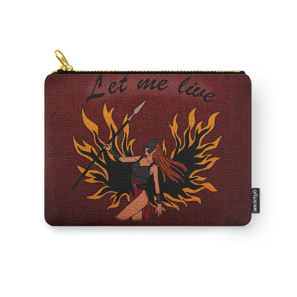 Society6 Resident Evil Claire Redfield Jacket Carry-All Pouch Small (6'' x 5'') by Society6