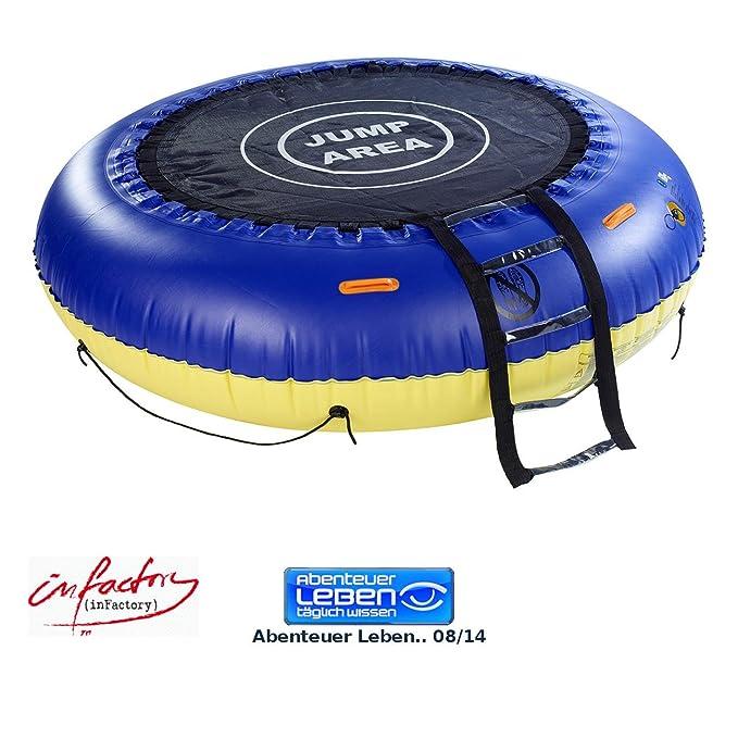 Infactory - Trampolín de Agua: 4 in1 de trampolín para trampolín de Agua y jardín (Hinchable): Amazon.es: Deportes y aire libre