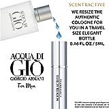Acqua Di Gio By Giorgio Armani For Men Travel Mini Size Eau De Toilette Spray 5 ml / 0.16 Fl Oz - Valentines Day Gifts